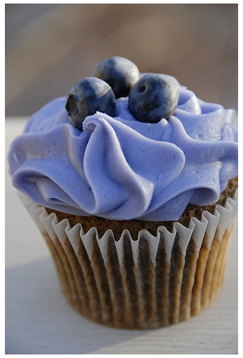Studmuffin blueberry cupcake from so cupcake