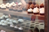 Cupake Chic Cupcakes in their new cases at the Orem storefront (727 E. 1000 South, Orem, Utah)