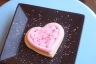 Heart-Shaped Valentine's Day Sugar Cookie from The Chocolate Dessert Cafe in Orem, Utah